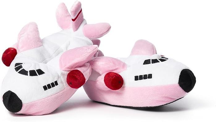 Amazon.com: Airplane Slippers - Pink