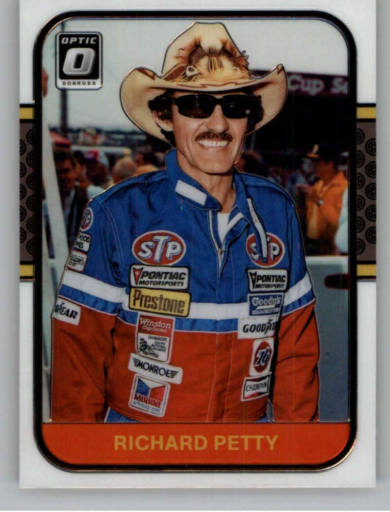 2020 Donruss Top Tier Racing #8 Richard Petty STP//Petty Enterprises//Plymouth Official NASCAR Trading Card From Panini America