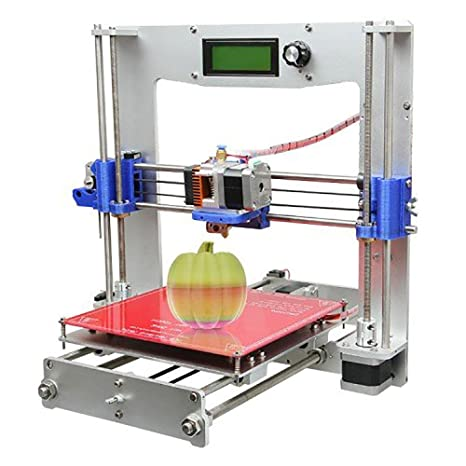 WER Kit Impresora 3d Prusa i3 aluminio soporte Pla, ABS, nylon, Wood y