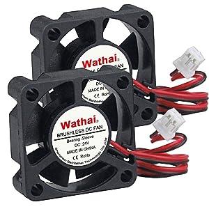 Wathai 30mm x 10mm 24V DC Brushless Cooling Fan High Speed Fan