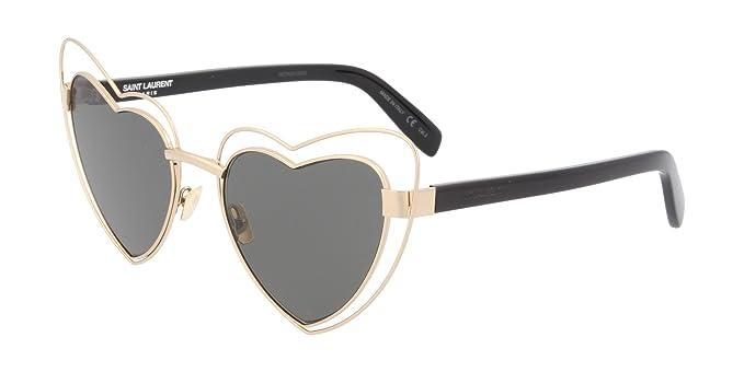 Saint Laurent Damen Sonnenbrille SL 197 Loulou 002, 2/Grey, 57