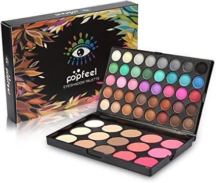 Set de paleta de sombras de ojos, sombra de ojos de 40 colores + paleta de