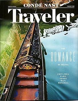 1-Yr Conde Nast Traveler Magazine Subscription