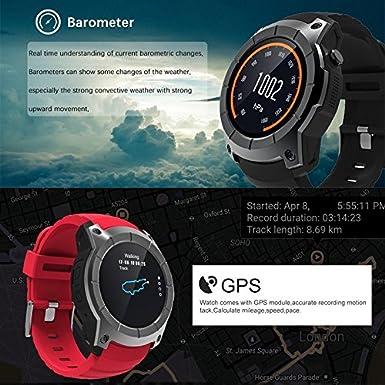 Amazon.com: TOOGOO for Android iOS Phones S958 Smart Watch ...