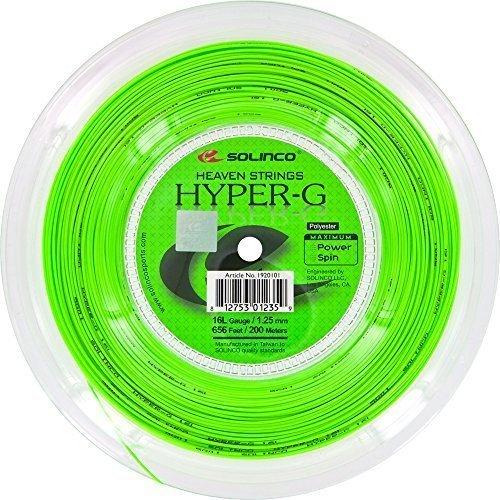 Solinco Hyper-G (16L-1.25mm) Tennis String Reel (660ft/200m) by Solinco (Image #1)