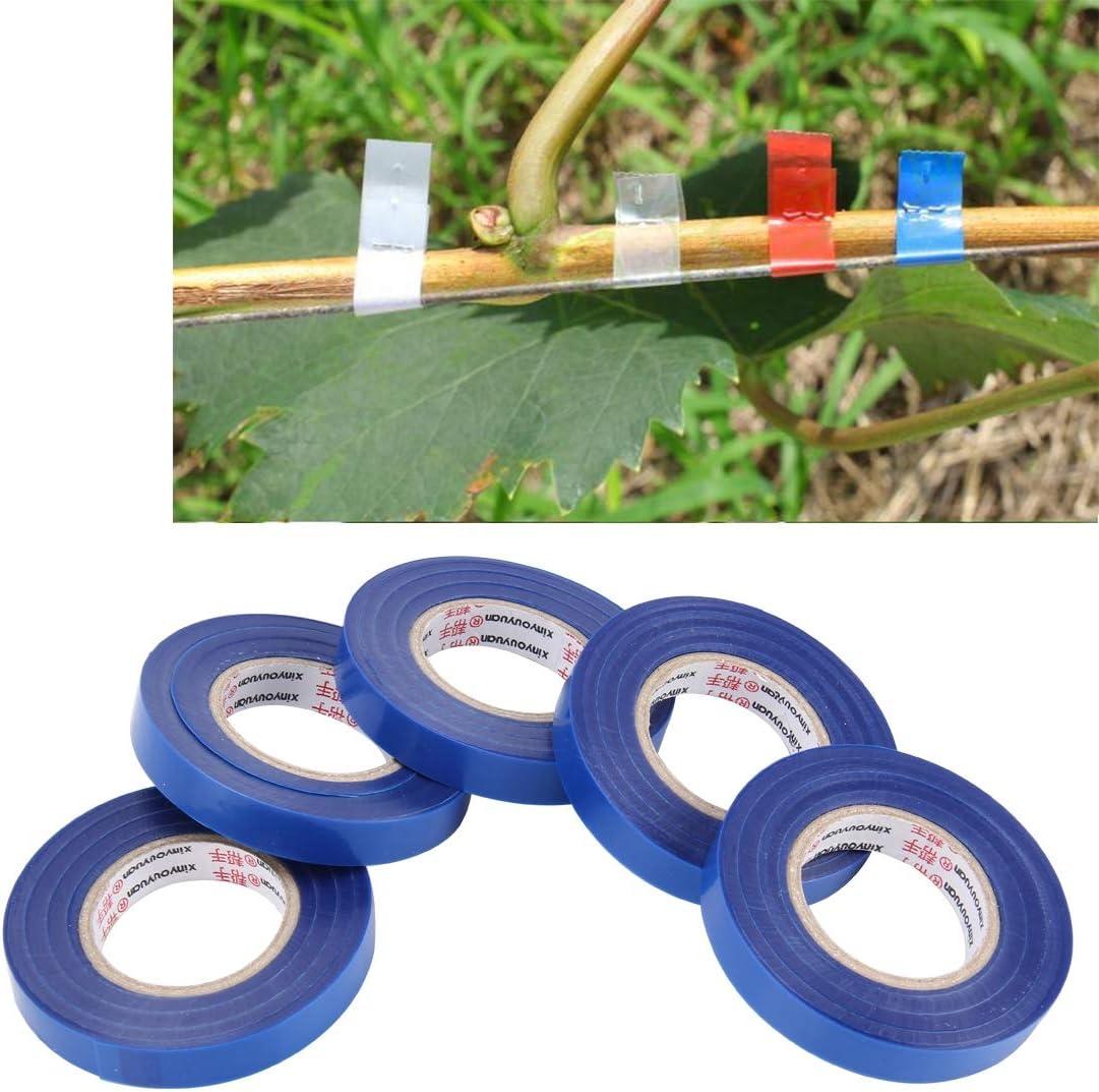 Durable 5PCS Jardín correas cinta adhesiva de la cinta especial atado de cinta de la máquina de la vid