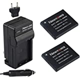 Newmowa NB-11L Battery (2-Pack) and Charger kit for Canon NB-11L and Canon PowerShot A2300 IS, A2400 IS, A2500, A2600, A3400 IS, A3500 IS, A4000 IS, ELPH 110 HS, ELPH 115 HS, ELPH 130 HS, ELPH 320 HS, ELPH 340 HS
