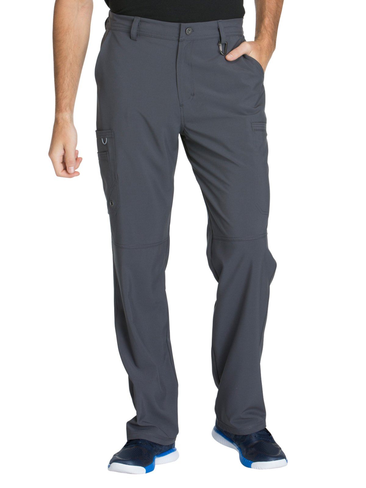 Cherokee Infinity CK200A Men's Fly Front Cargo Pant Pewter 2XL Short