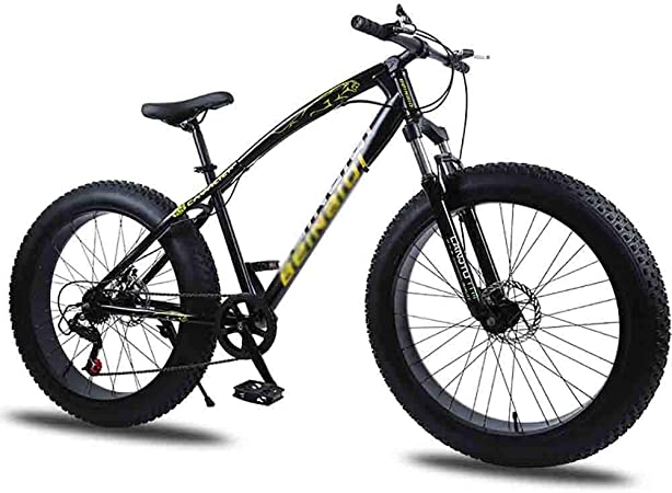 Bicicleta para joven Bicicletas De carretera Bicicleta MTB adulto agua motos de nieve Bicicletas bicicleta de montaña for hombres y mujeres de 26 pulgadas ruedas ajustables velocidad doble freno de di: Amazon.es: