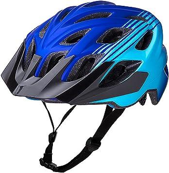Kali Protectives Chakra Casco de Bicicleta Unisex, Color Azul ...