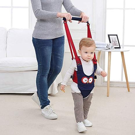 levantarse y caminar el aprendizaje ayudante para beb/é Babymeo Bebe poca asistente ni/ño caminar arnes manejar beb/é Walker por autbye Pink