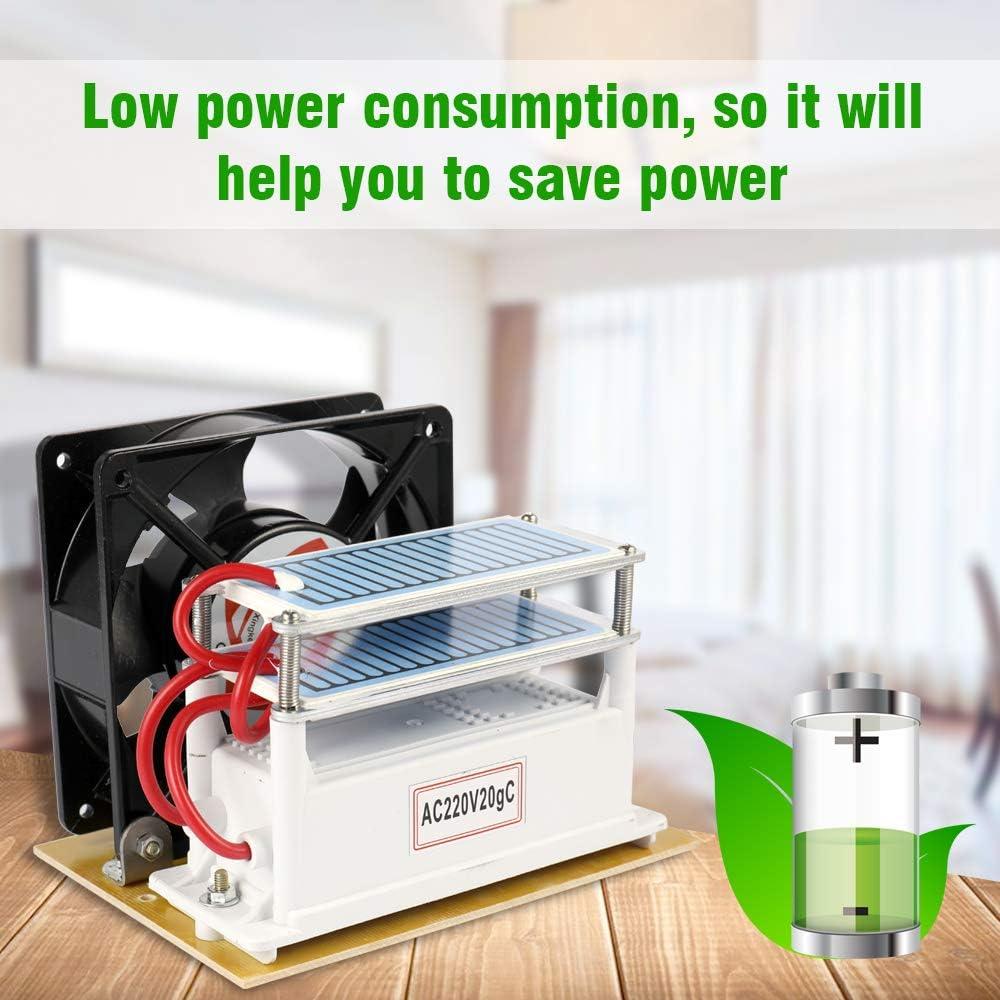 KKmoon - 10g/h Generador Portátil del Ozono/Purificador de Aire ...
