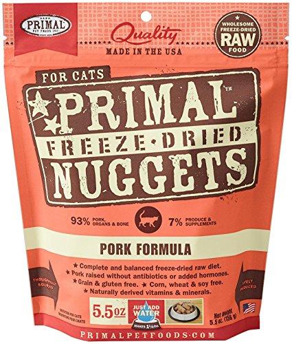 Primal FPKFD5.5 Pet Foods Freeze-Dried Feline Pork Formula,