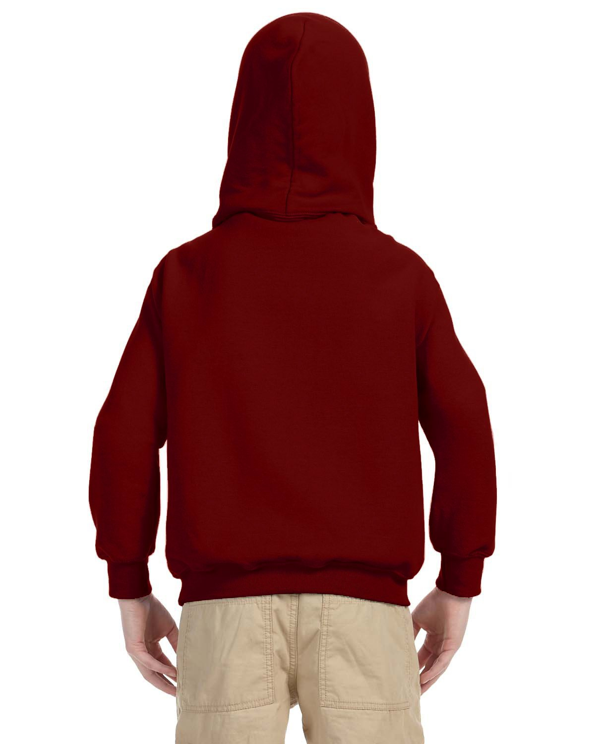 Indica Plateau Kids Hoodie I'd Rather be Camping Medium Red Hoodie by Indica Plateau (Image #4)