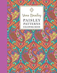 Prepare to embark on a creative journey, and get into the flow with a gorgeous swirl of paisley designs! 40 authentic Vera Bradley patterns, classic paisley designs to bring to life with color 16 bonus gift tags, ready-to-color and attach to ...