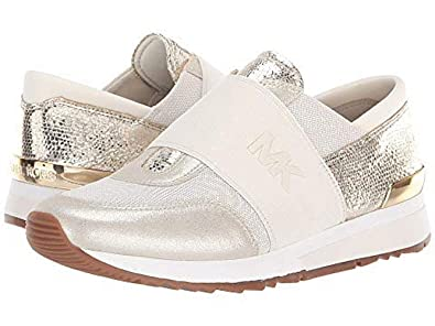 c1db611df317 Image Unavailable. Image not available for. Color  Michael Michael Kors MK Trainer  Sneakers ...