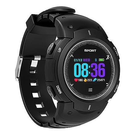 ADAHX Reloj Inteligente, Pantalla de Color Curvada 3D 50 Metros de monitoreo de frecuencia cardíaca
