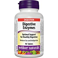 Webber Naturals Digestive Enzymes Tablets, 90 Count