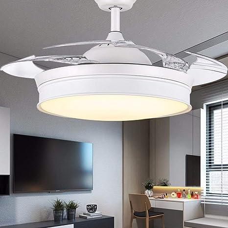 GZZ Deng Home Iluminación para Exteriores Ventiladores de Techo ...