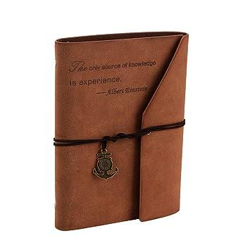 Dotted Dot Bullet Journal A5 Carnet Pointille Vintage Rechargeable Notebook Personnel Organiseur Journalier De