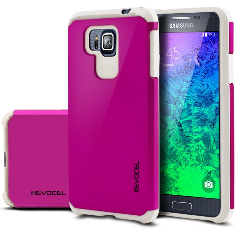 Samsung Galaxy Alpha Case Evocel Dual Layer Armor Protector G850 For Att T Mobile Verizon Sprint Packaging