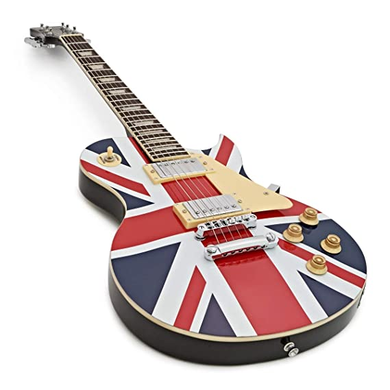 Guitarra Eléctrica de New Jersey de Gear4music - Union Jack: Amazon.es: Instrumentos musicales