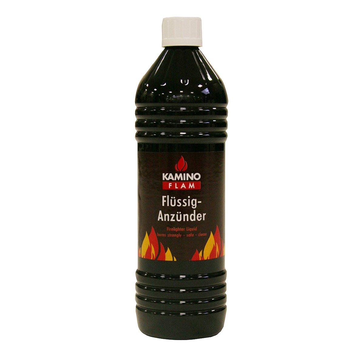Kamino-Flam 333515 Accendifuoco Liquido, Grigio, 1 Litro Kamino - Flam