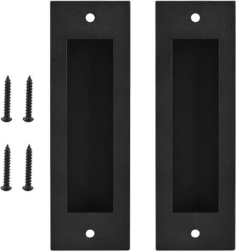 Geboor - Tirador rectangular para puerta de baño, con tornillos, 2 ...