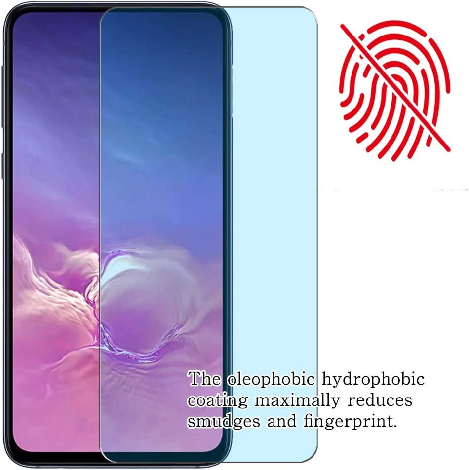 【4 Pack】 Synvy Anti Blue Light Screen Protector for Poptel P60 Anti Glare Screen Film Protective Protectors Not Tempered Glass