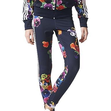 75498eb7ab3437 adidas Women's Originals Floral Leggings Multi Color az3237 (Size 2X ...
