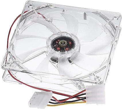 CAOQAO - Ventilador de refrigeración para CPU de 12 cm, Repuesto ...