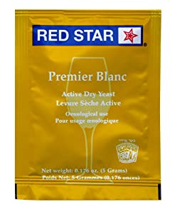 Red Star Premier Blanc Champagne Dried Yeast
