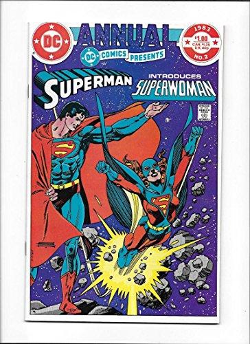 DC COMICS PRESENTS ANNUAL #2 [1983 VF-NM] SUPERMAN--INTRO SUPERWOMAN