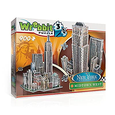 Wrebbit W3d 2010 Puzzle 3d Midtown West 900 Pezzi