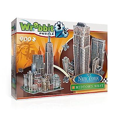 Wrebbit W3d 2010 Puzzle 3d Midtown West 900 Pezzi