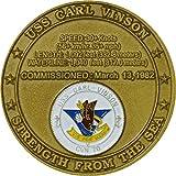 USS Carl Vinson CVN-70 Challenge Coin