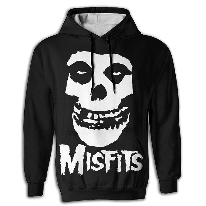 Amazon.com: Misfits para hombre nueva banda moda con capucha ...