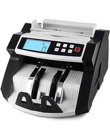 Aibecy Automático Multi Moneda Efectivo Billete de Banco Dinero Cuenta Mostrador Contand Máquina LCD Monitor con