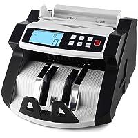 Aibecy Contador de billetes y Detector Automático Mostrador Máquina LCD Monitor con UV MG Falsificación para para Multi…