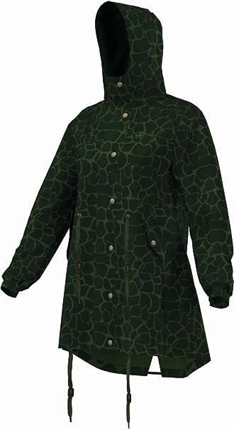 adidas - Abrigo impermeable - para mujer verde verde 40: Amazon.es: Ropa y accesorios