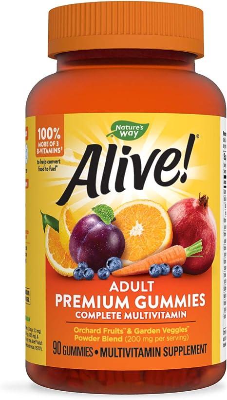 Imagen deNature 's Way Alive. Premium fórmula multi-vitamin adulto Gummies, 90Count
