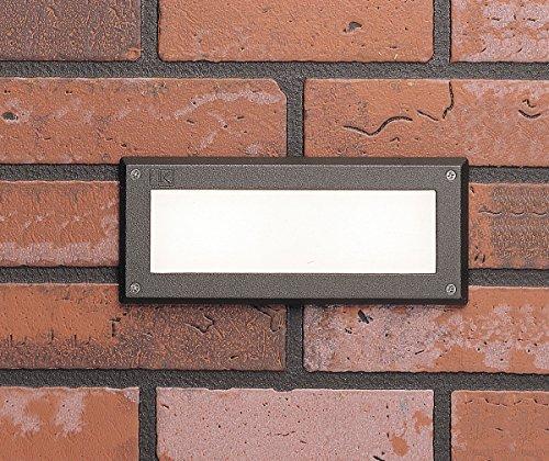 Kichler 15074AZT Step 2-Light 12V, Textured Architectural Bronze