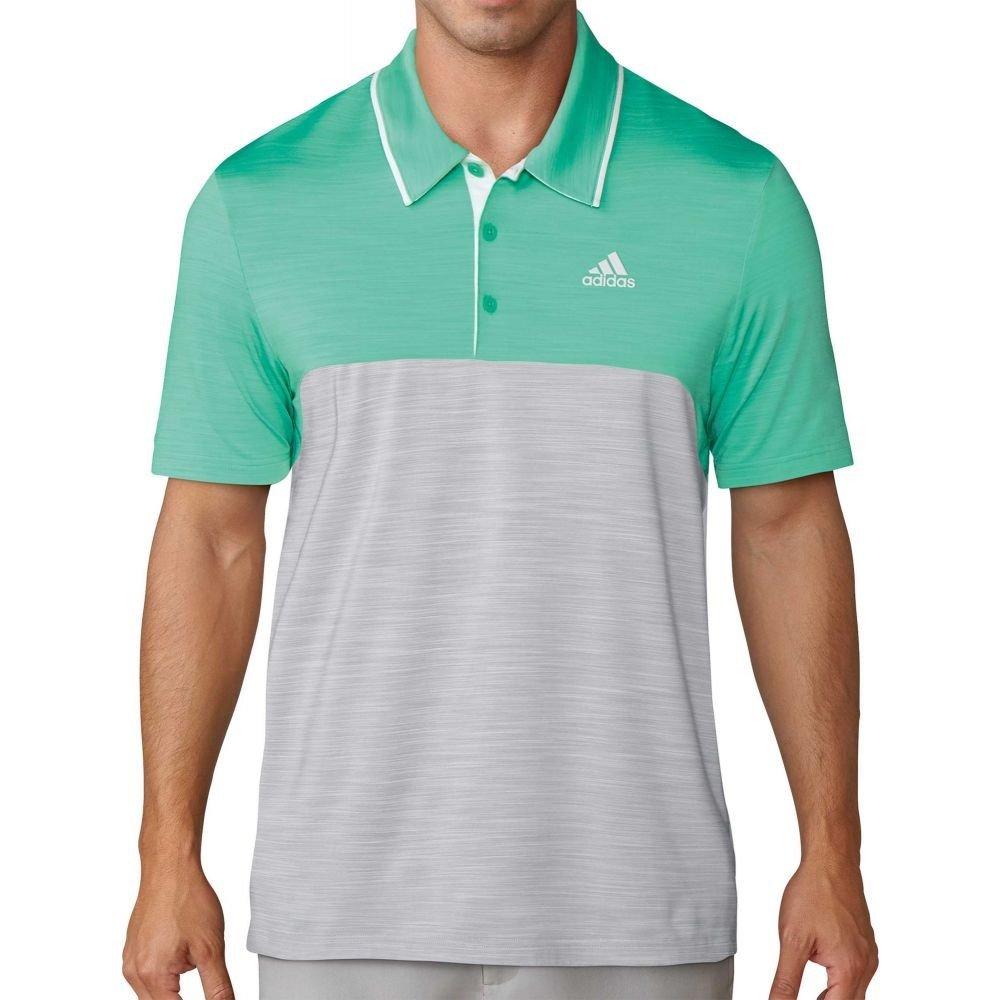 (アディダス) adidas メンズ ゴルフ トップス Ultimate365 Heather Blocked Golf Polo [並行輸入品] B0793JXFC1 L