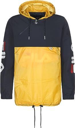 veste fila jaune