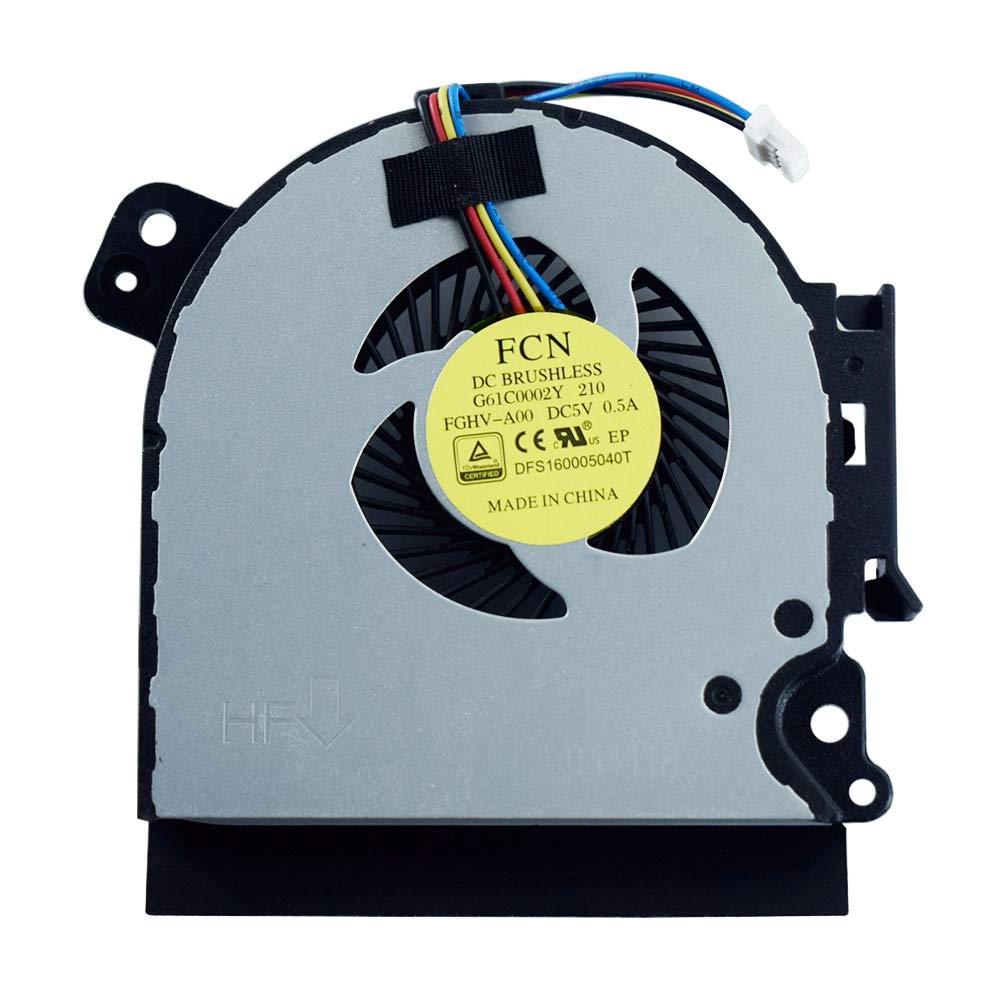 Ventilador CPU Toshiba Tecra A50-C A50-C1510 A50-C1520 A50-C1540