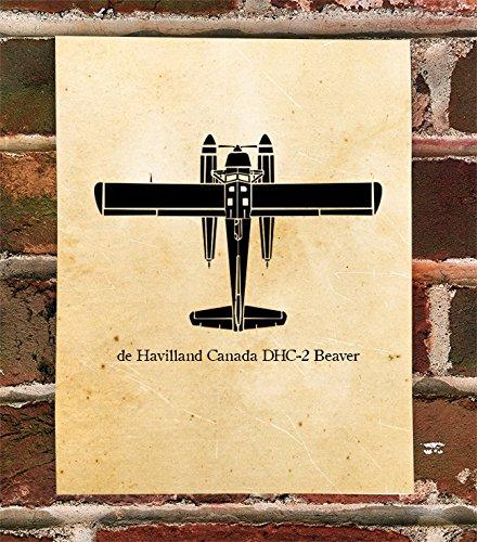 KillerBeeMoto: Limited Print de Havilland Canada DHC-2 Beaver Plane ()