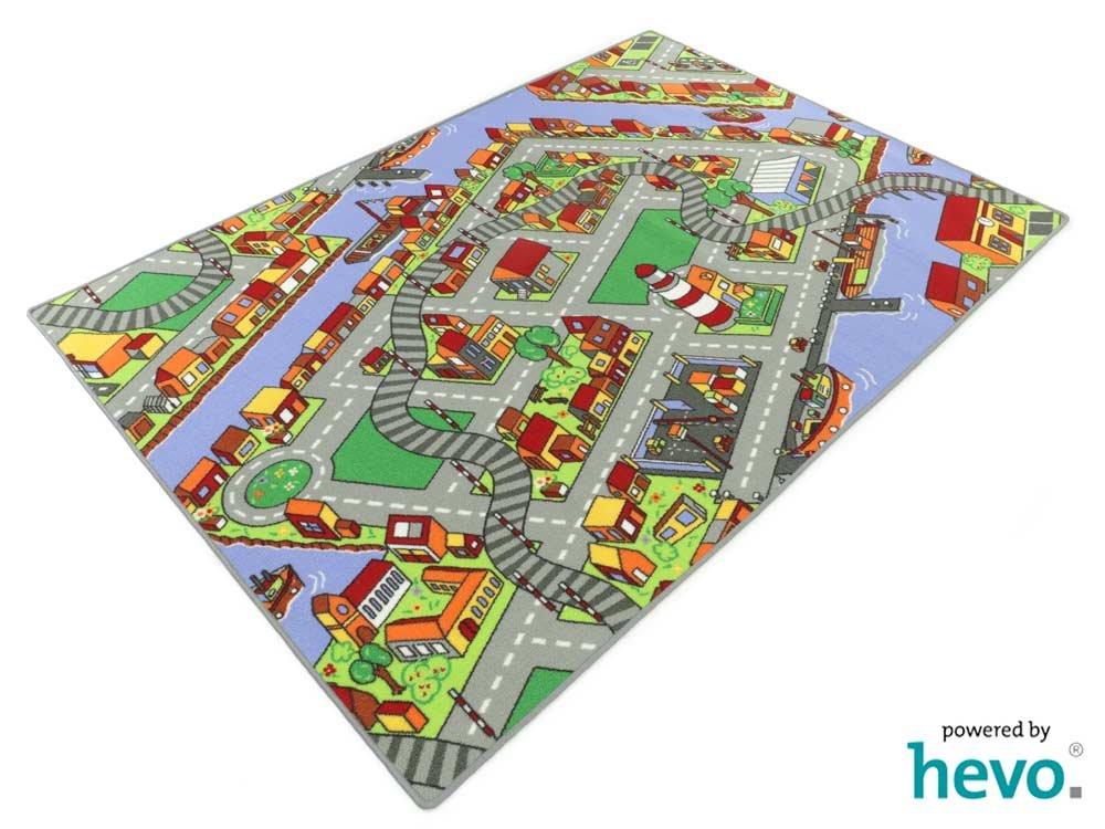 Amsterdam HEVO® Teppich   Spielteppich   Kinderteppich 200x280 cm Oeko-Tex 100