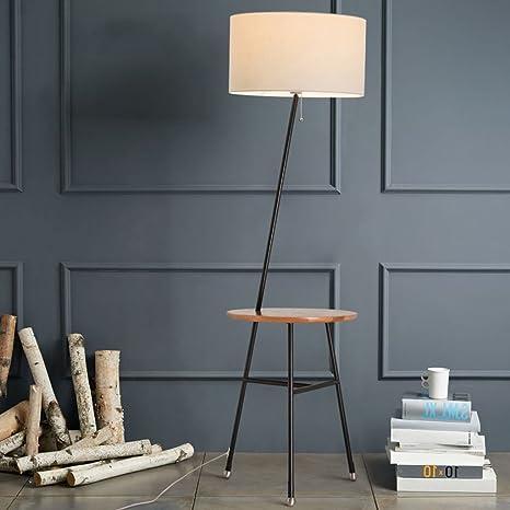 LUO Lámpara de pie para el hogar, LED de lectura de pie ...