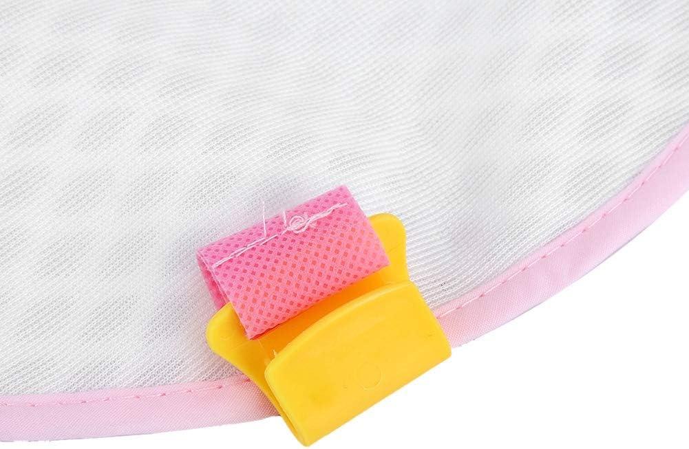Hamac de Bain B/éb/é Tapis de Bain pour Transat de Bain Support de Si/ège de Bain pour B/éb/é Douche Hamac Maille B/éb/é Anti-d/érapant Coussin Berceau Pink