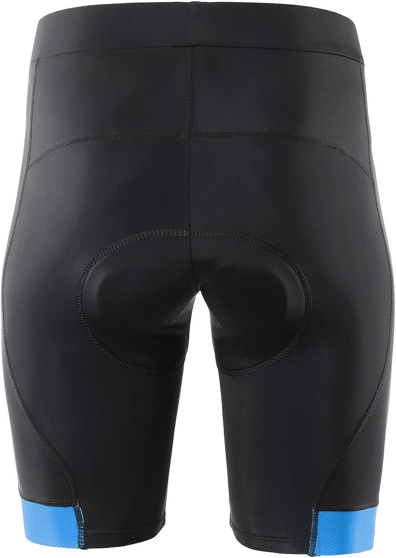 Pantalones cortos de ciclismo acolchados 3D para hombre ARSUXEO 563
